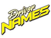 DRIVER NAMES