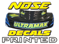 NOSE DECALS PRINTED